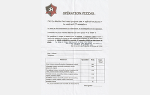 L'OPERATION PIZZA EST MAINTENUE